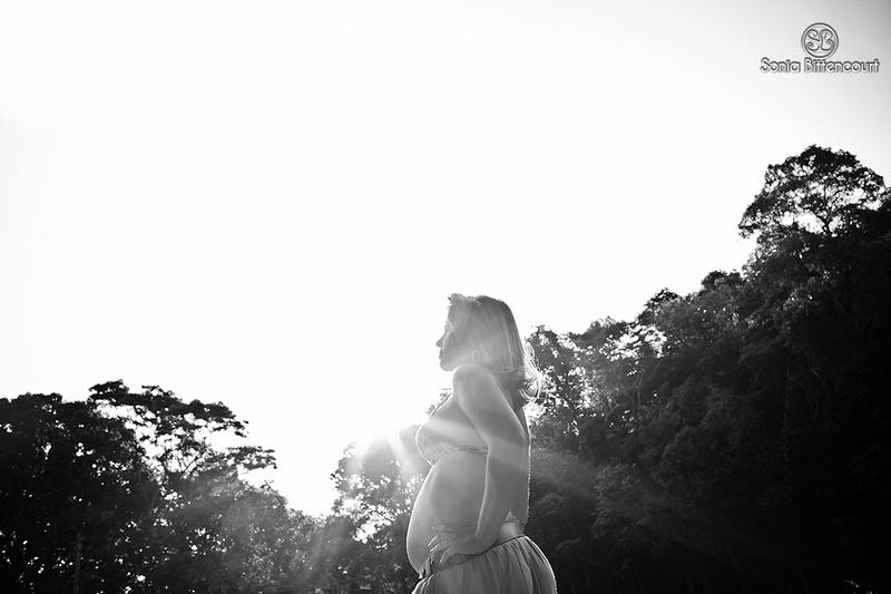 Fotografia de gestante - Brumadinho